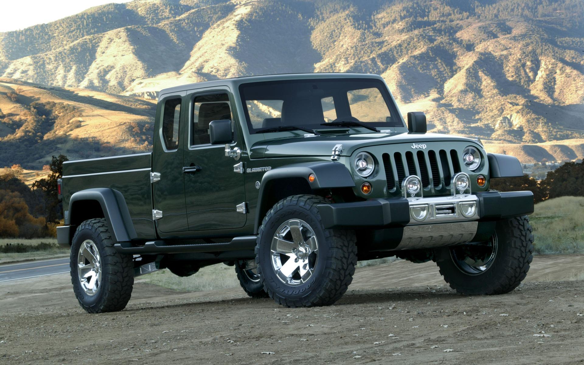 Le pickup Jeep sera dévoilé très bientôt 354029_Jeep
