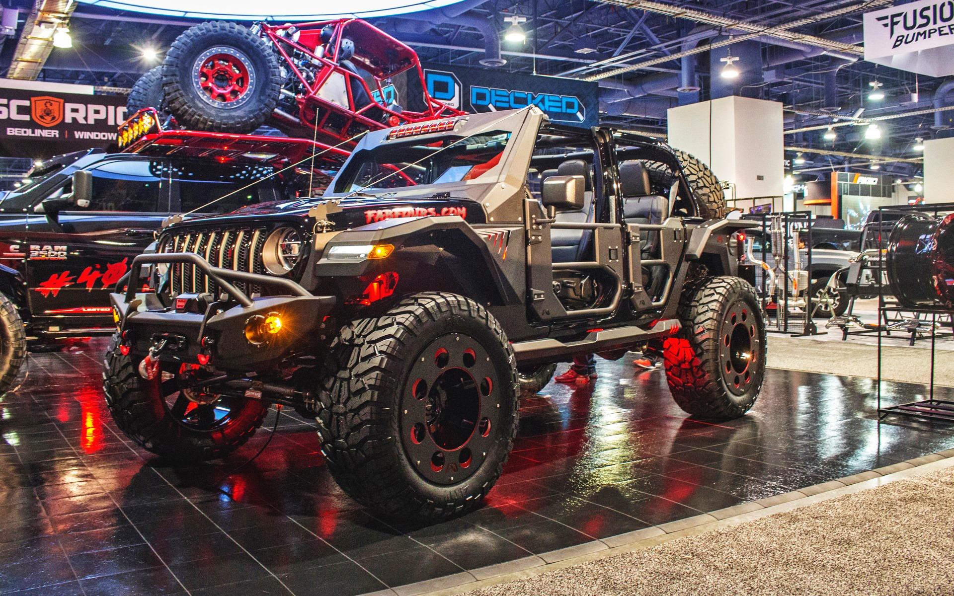 <p>Les Jeep étaient à l'honneur au SEMA Show 2018!</p>
