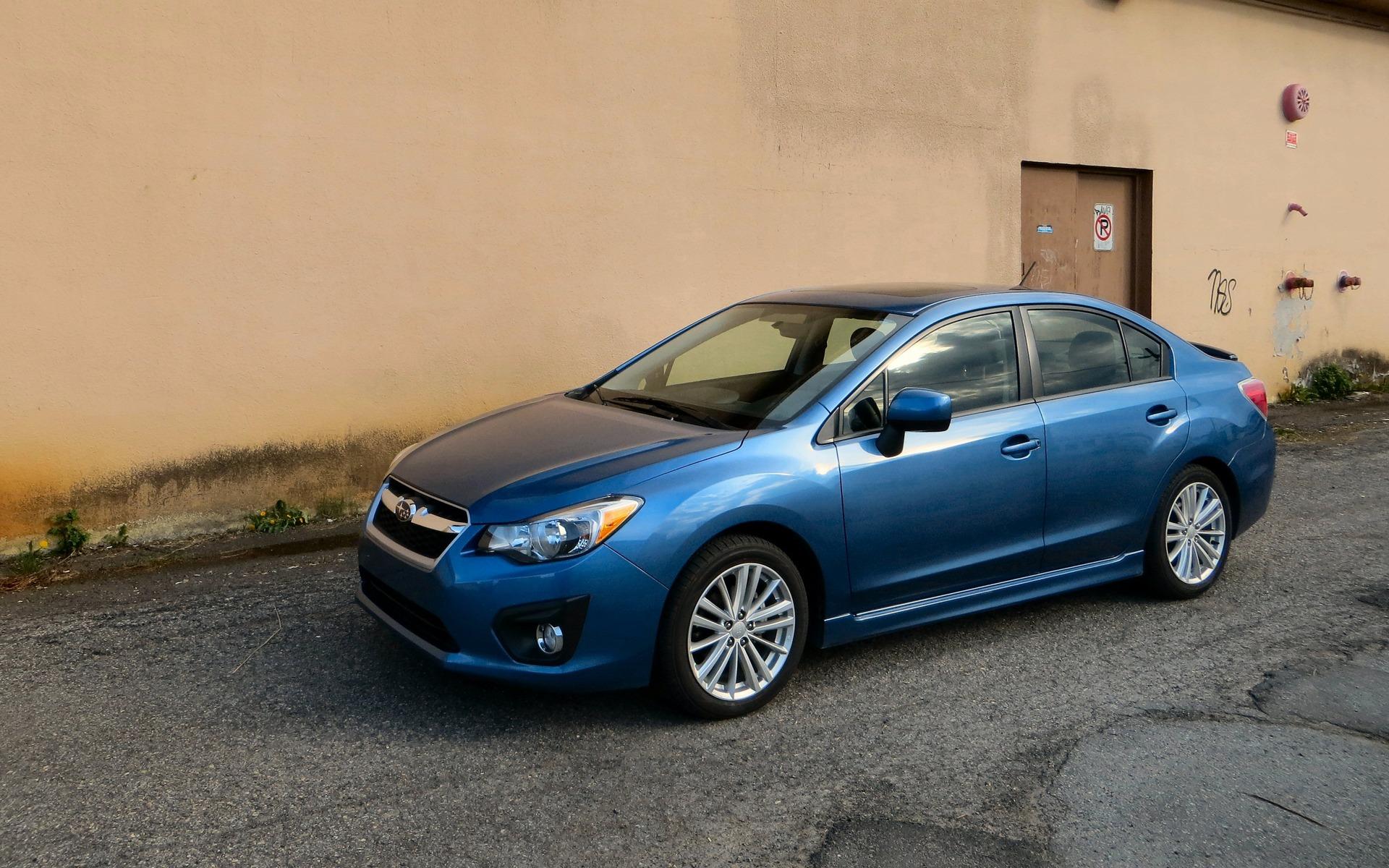 <p>Subaru Impreza 2012 &agrave; 2014</p>