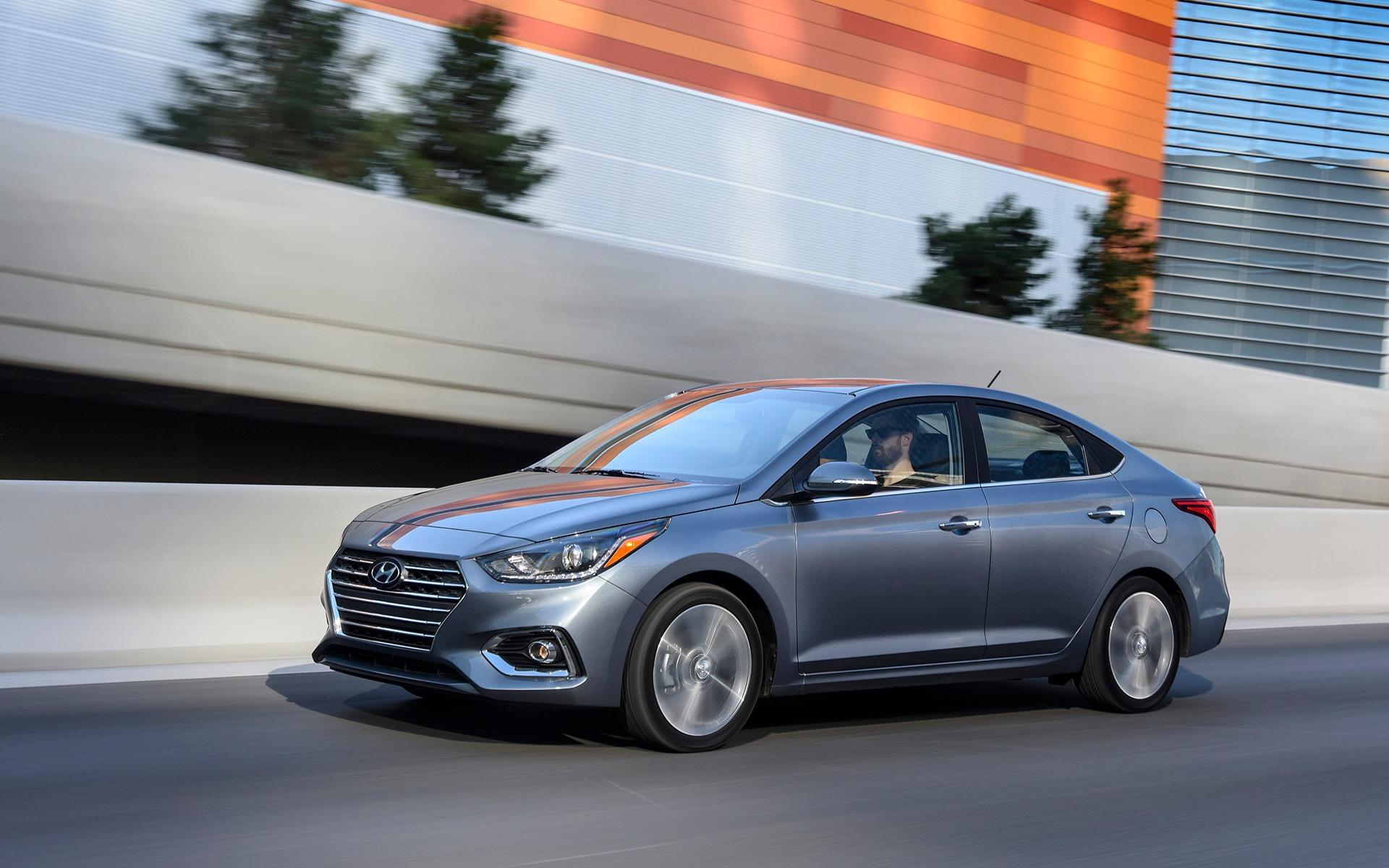 <p>2018 Hyundai Accent</p>