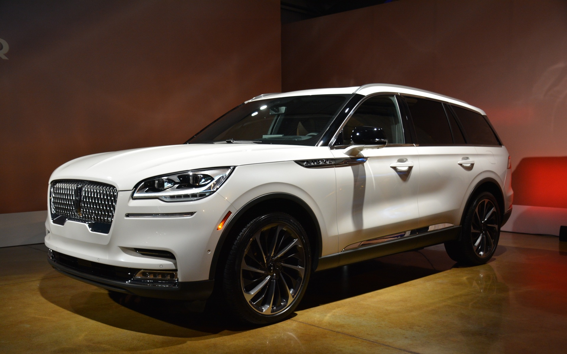 The all-new 2020 Lincoln Aviator