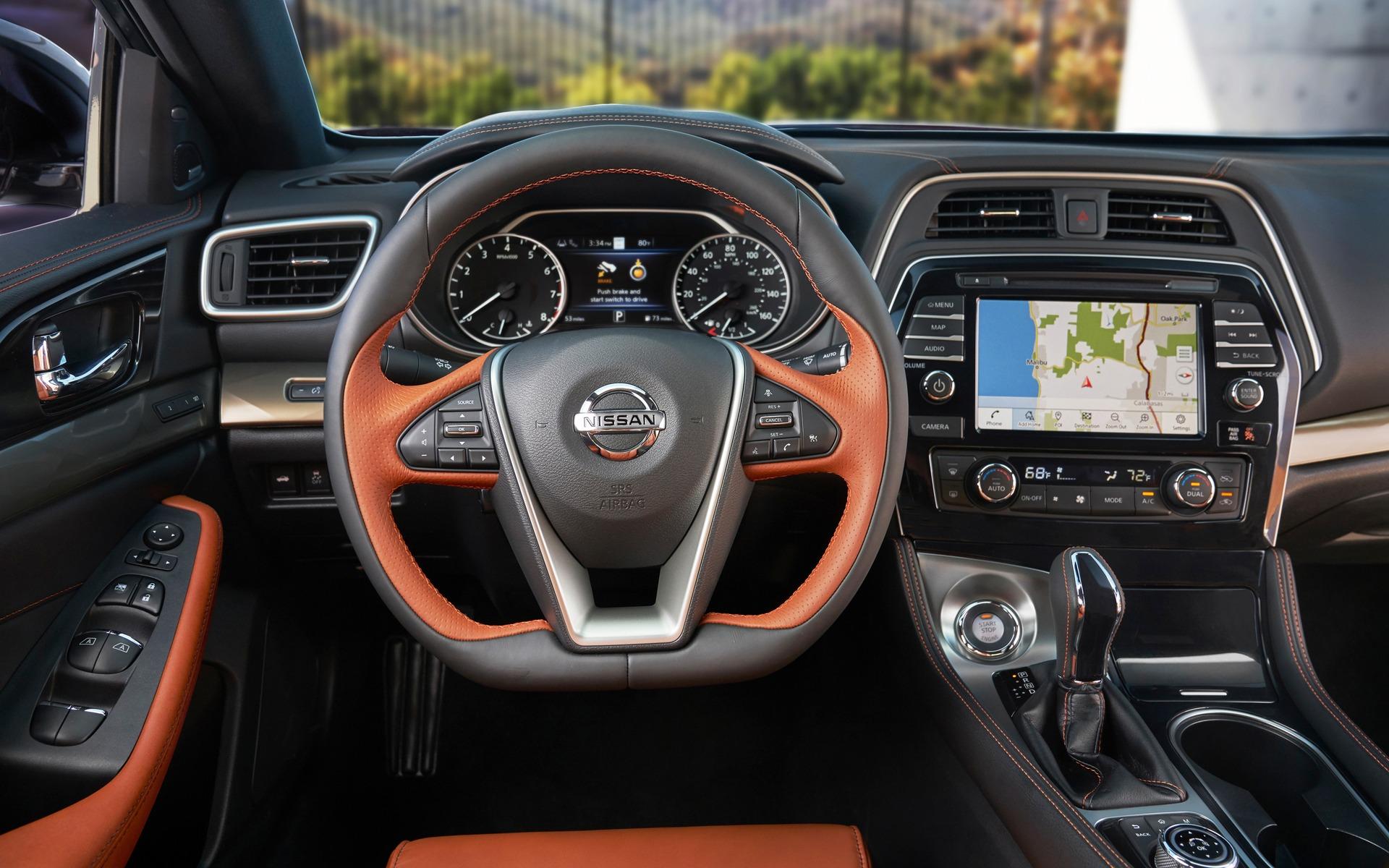 Nissan Maxima 2019 : encore plus stylisée 358025_2019_Nissan_Maxima