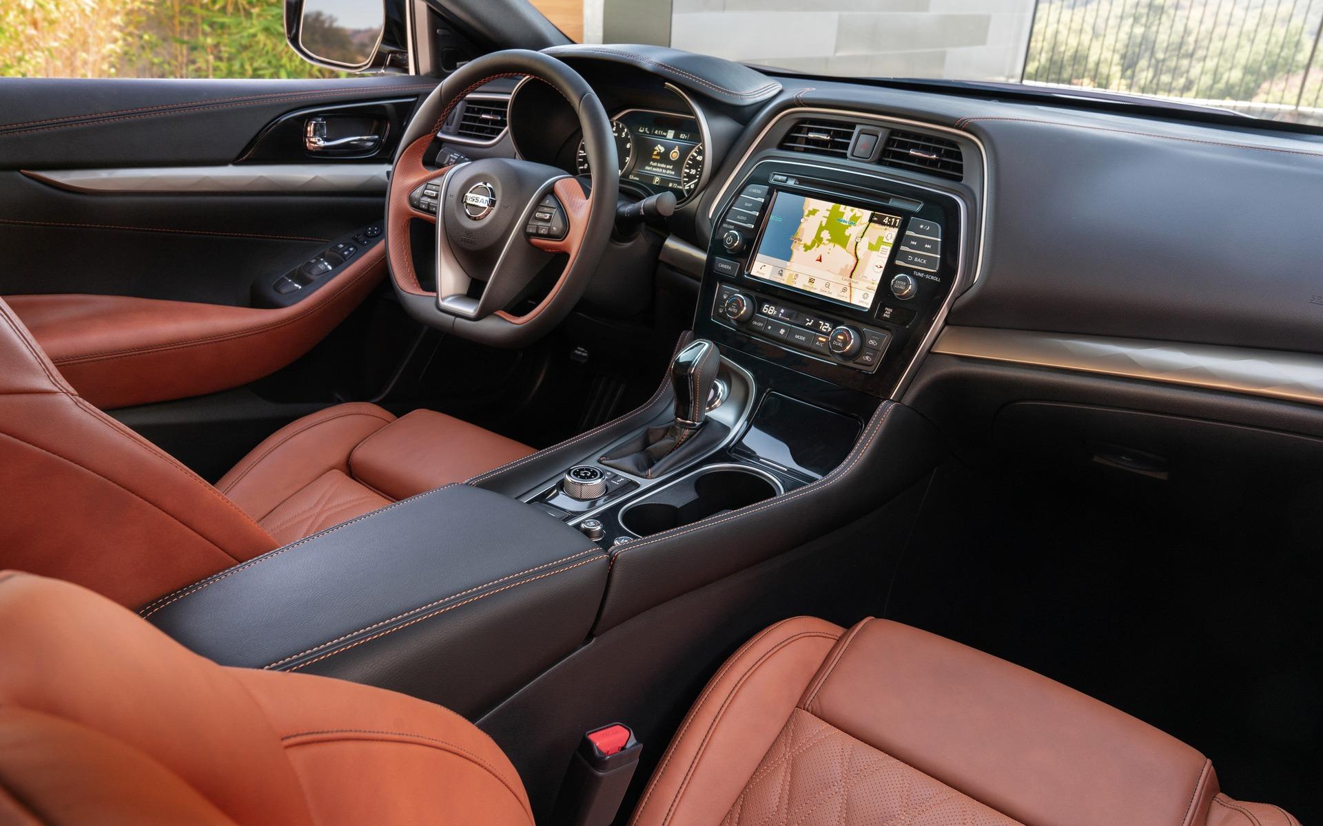 Nissan Maxima 2019 : encore plus stylisée 358026_2019_Nissan_Maxima