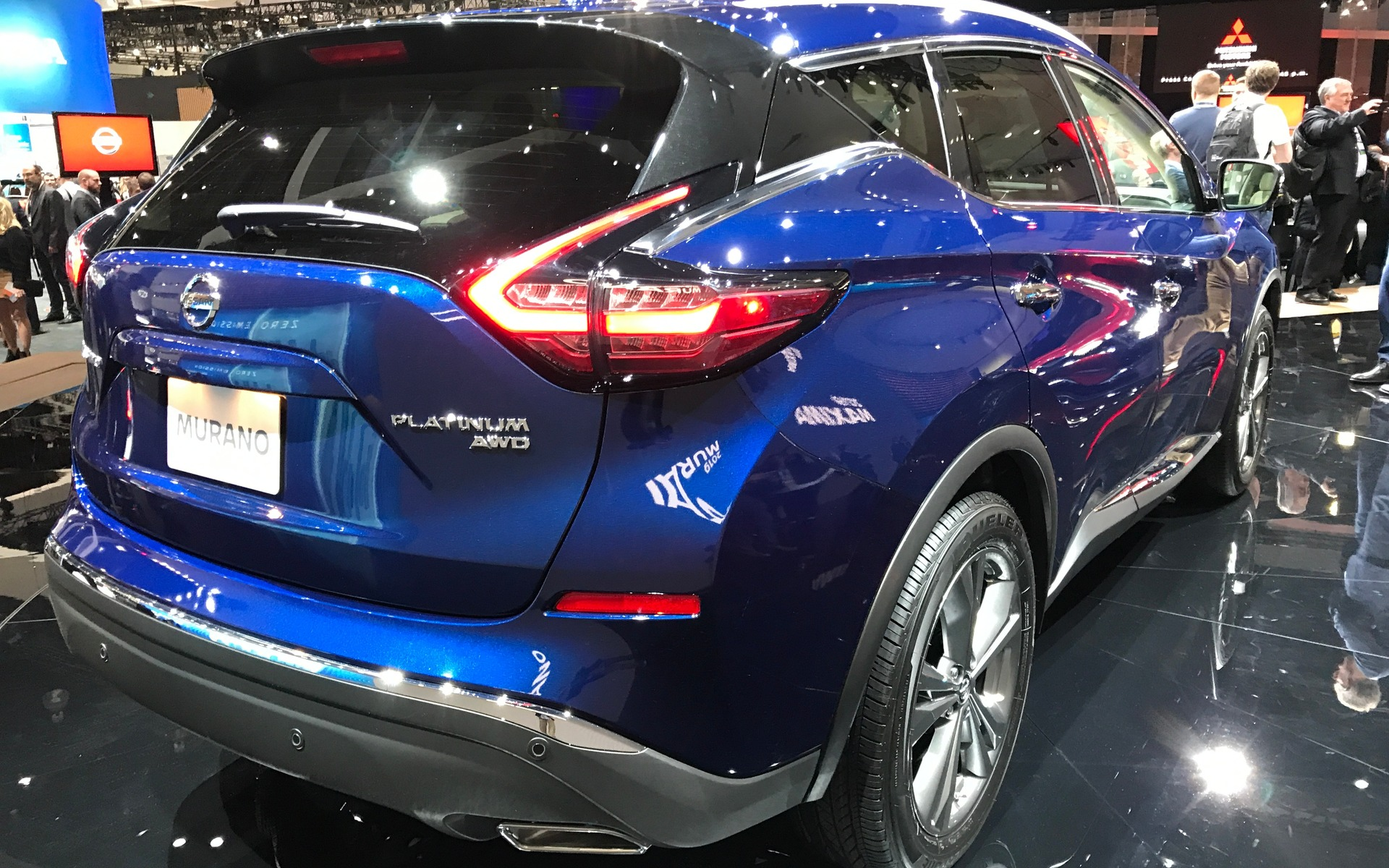 Nissan dévoile le Murano 2019 358528_2019_Nissan_Murano