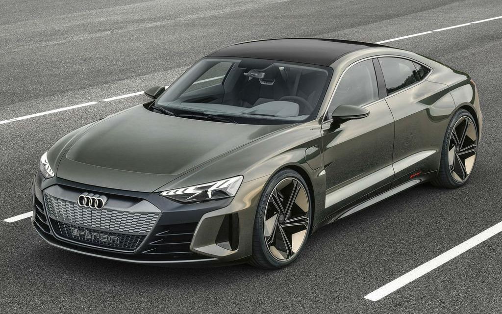 Audi dévoile la e-tron GT, une bombe électrique de 590 chevaux 358807_Audi_e-Tron