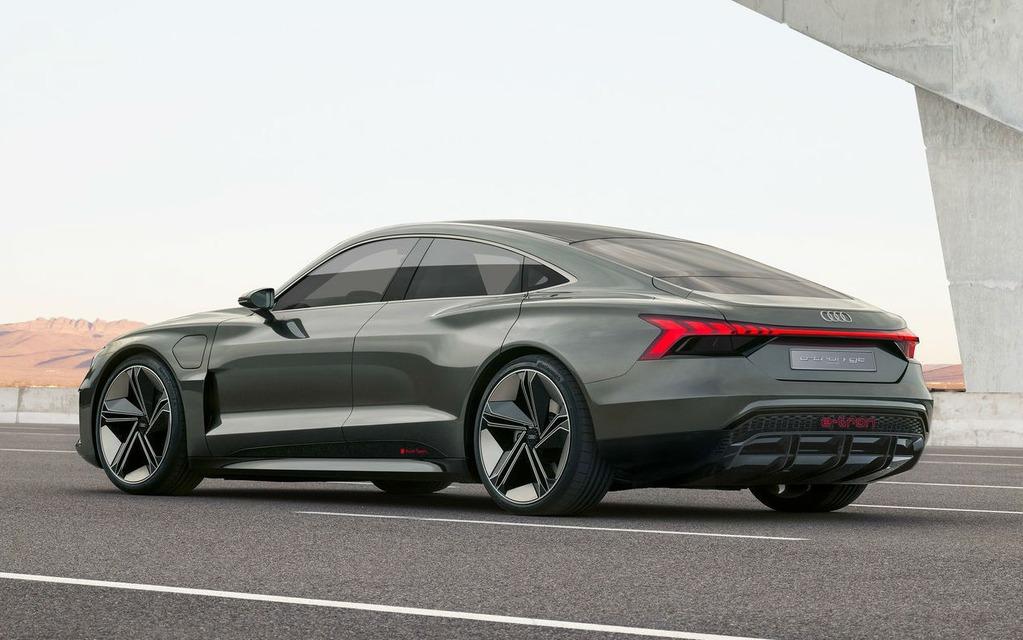 Audi dévoile la e-tron GT, une bombe électrique de 590 chevaux 358808_Audi_e-Tron