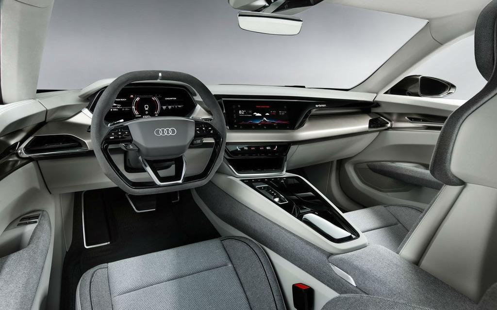 Audi dévoile la e-tron GT, une bombe électrique de 590 chevaux 358810_Audi_e-Tron