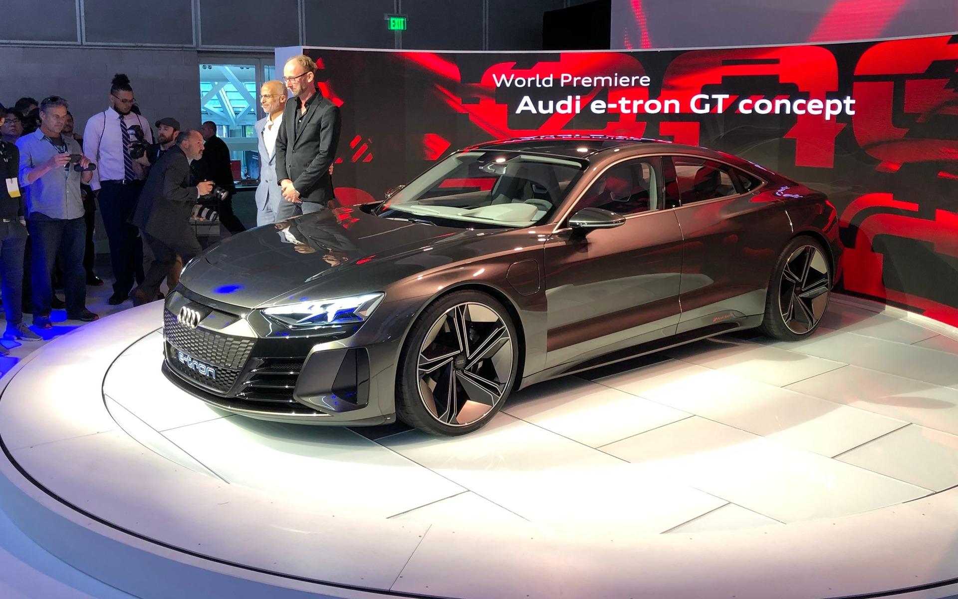 Audi dévoile la e-tron GT, une bombe électrique de 590 chevaux 358814_Audi_e-Tron