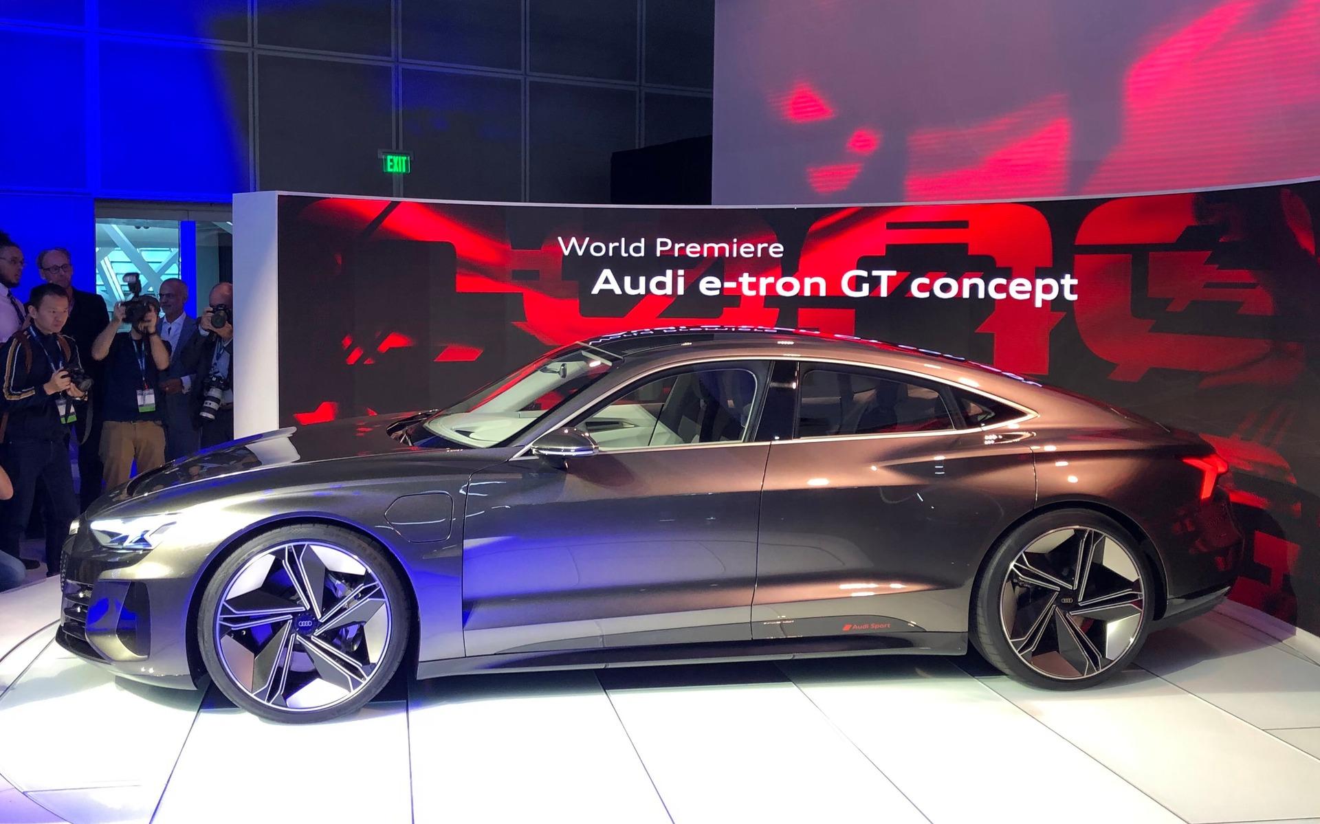 Audi dévoile la e-tron GT, une bombe électrique de 590 chevaux 358815_Audi_e-Tron