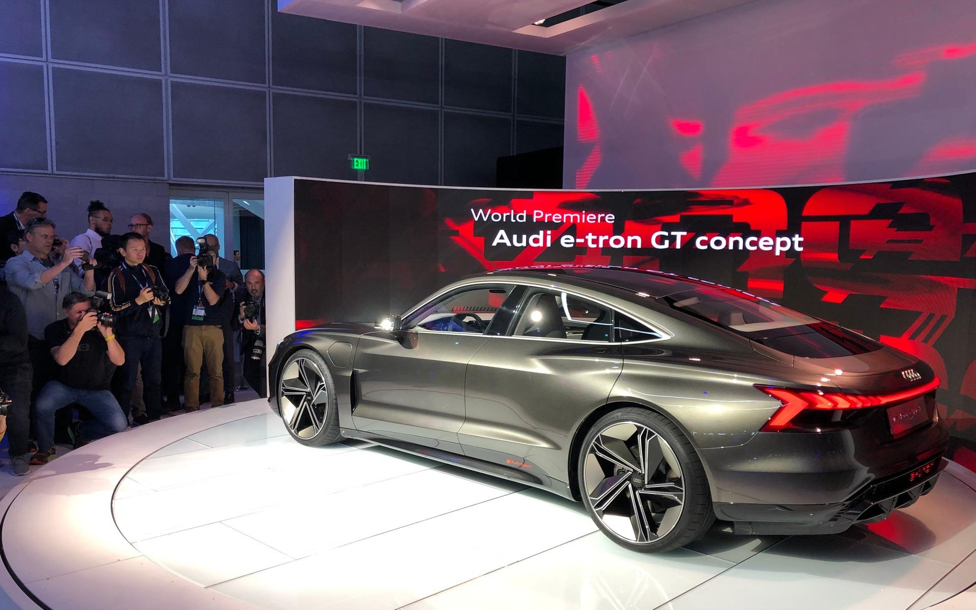 Audi dévoile la e-tron GT, une bombe électrique de 590 chevaux 358816_Audi_e-Tron