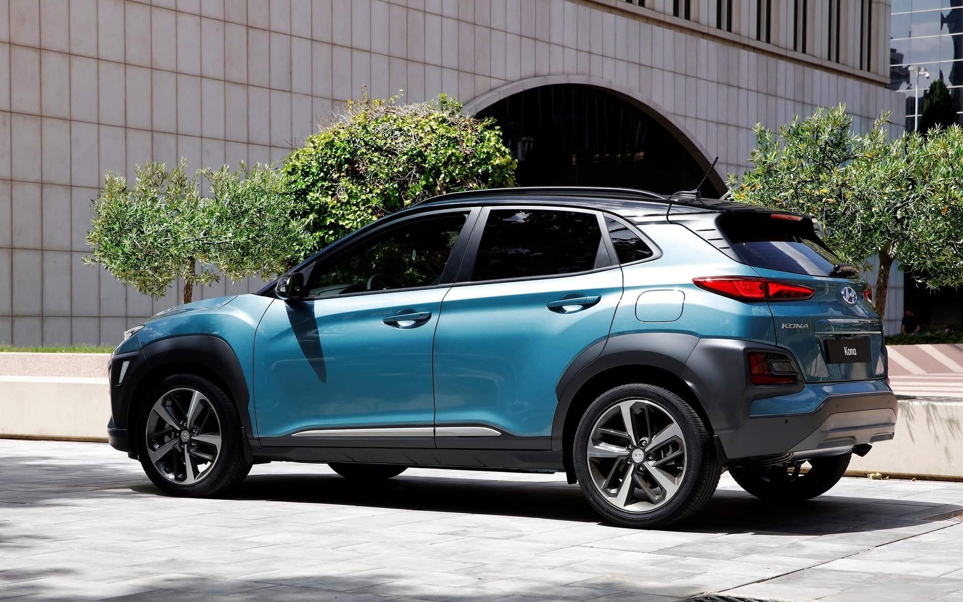 <p>2019 Hyundai Kona</p>