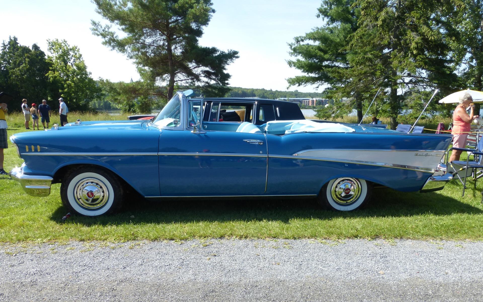 chevrolet bel air 1957 60 ans et flambant neuve guide auto. Black Bedroom Furniture Sets. Home Design Ideas