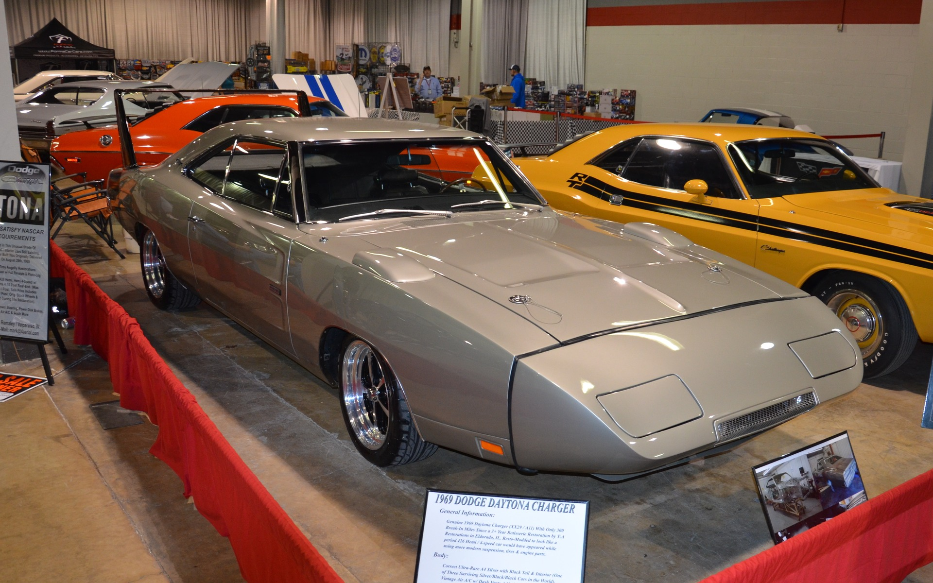 <p>Dodge Charger Daytona 1969</p>