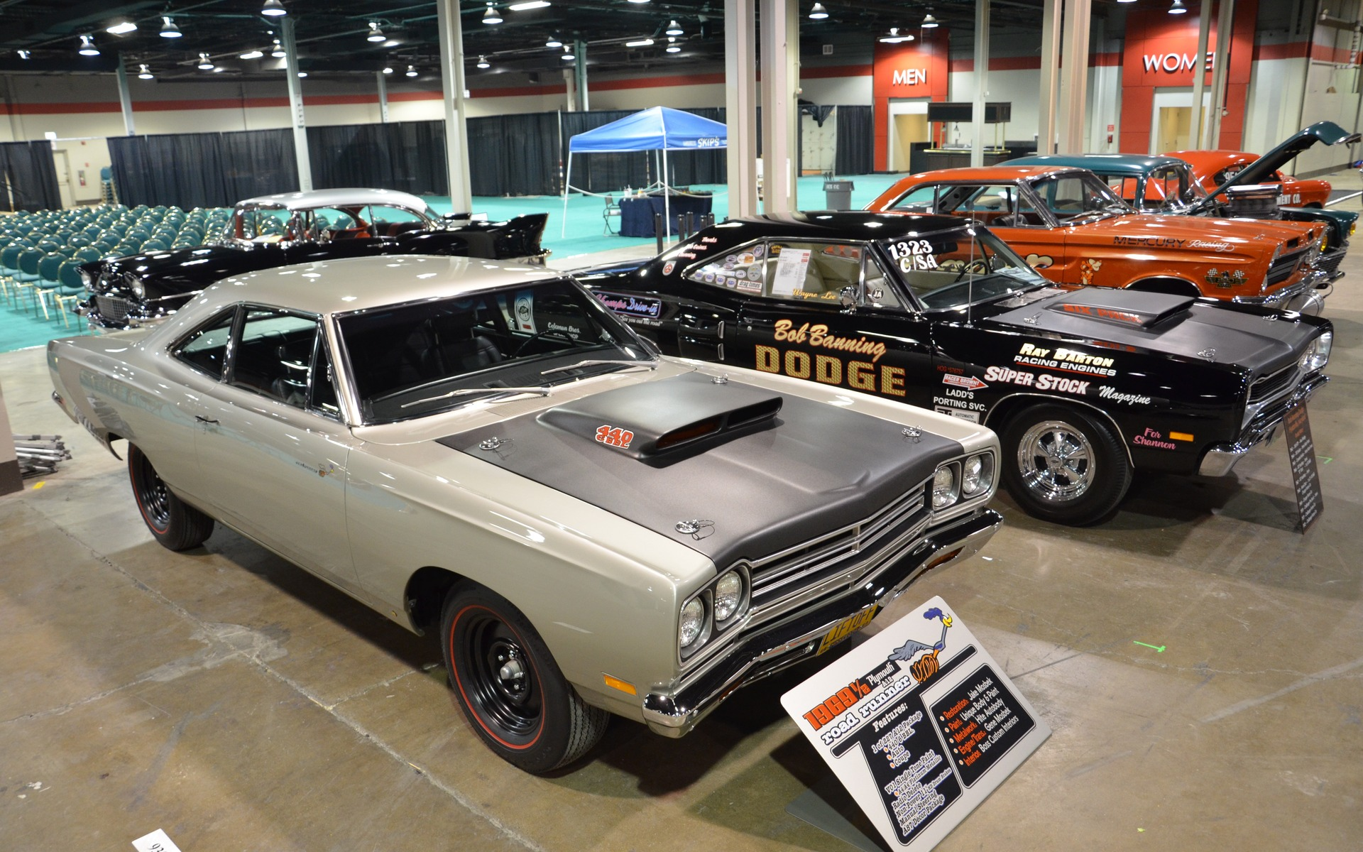 <p>Plymouth Road Runner, Dodge Super Bee</p>