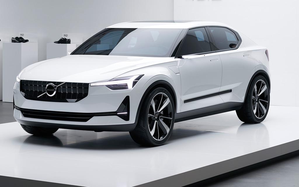 <p>Son style pourrait être inspiré du concept 40.2 de Volvo</p>