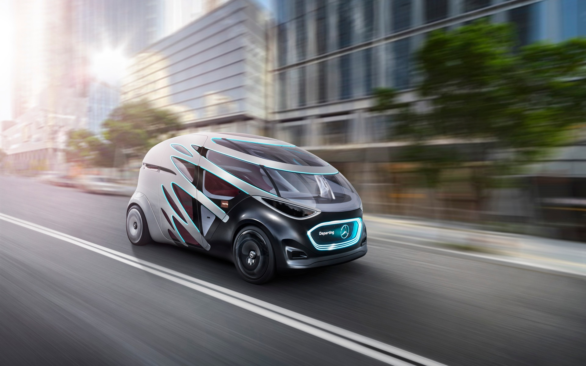 Mercedes Benz Urbanetic Concept North American Premiere At 2019 Ces