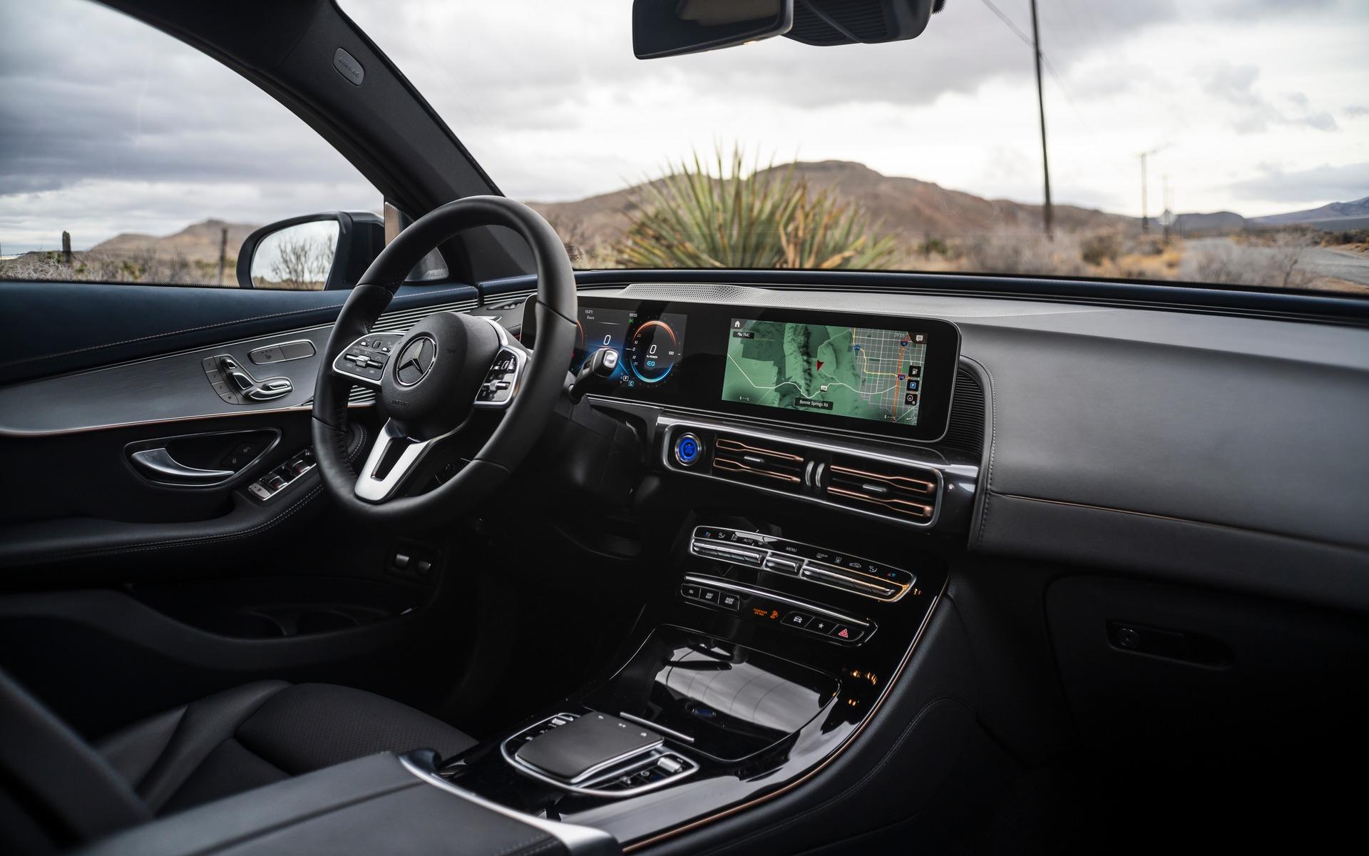 Mercedes-Benz EQC 400 2020 : à bord du VUS électrique 362009_2020_Mercedes-Benz