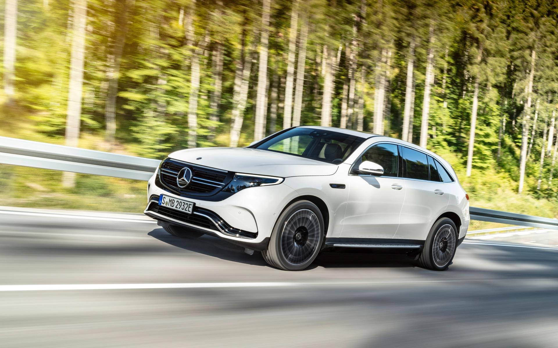 Mercedes-Benz EQC 400 2020 : à bord du VUS électrique 362014_2020_Mercedes-Benz