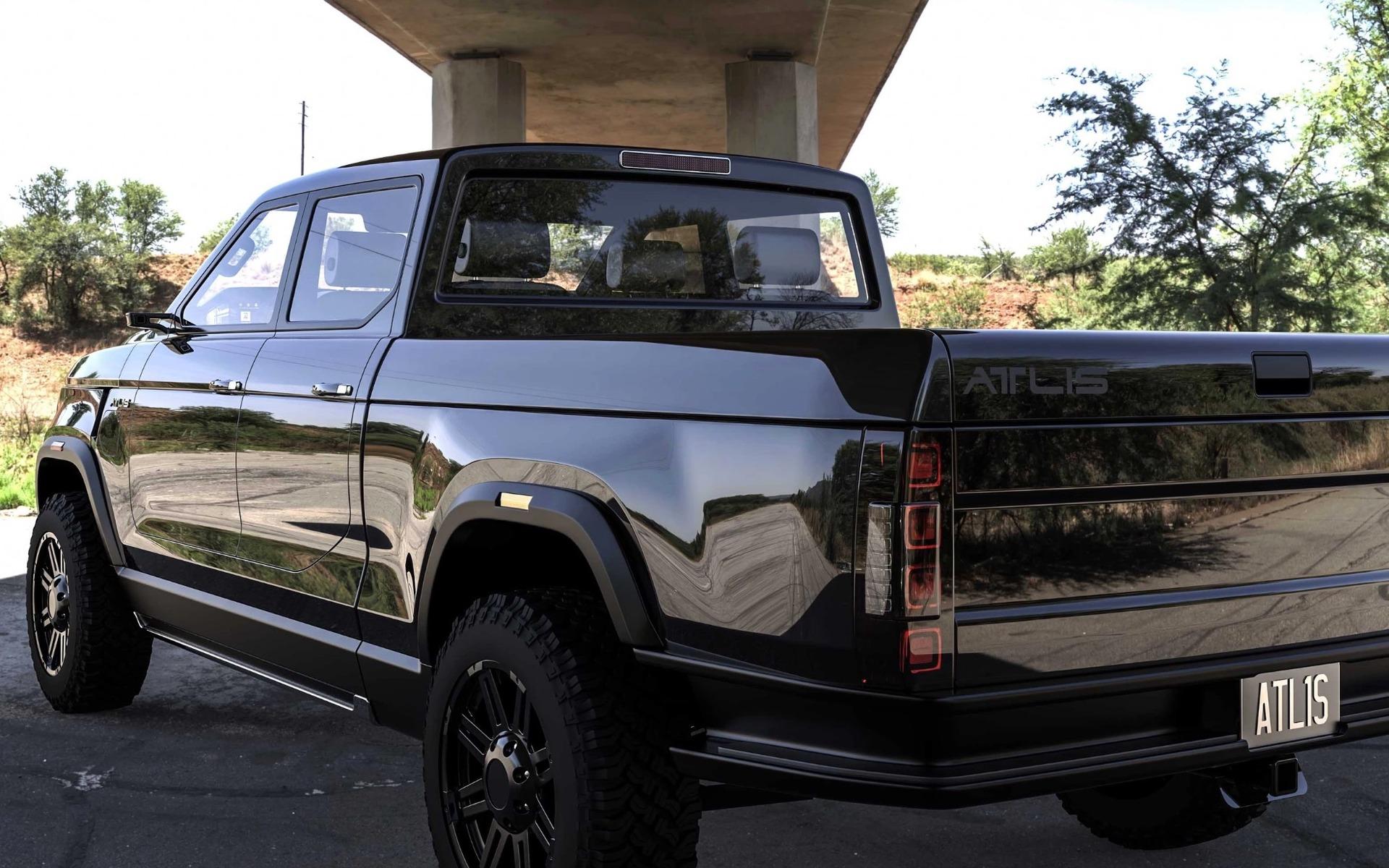 Jusqu'à 805 kilomètres d'autonomie pour ce pickup électrique 362080_Jusqu_a_805_kilometres_d_autonomie_pour_ce_pickup_electrique