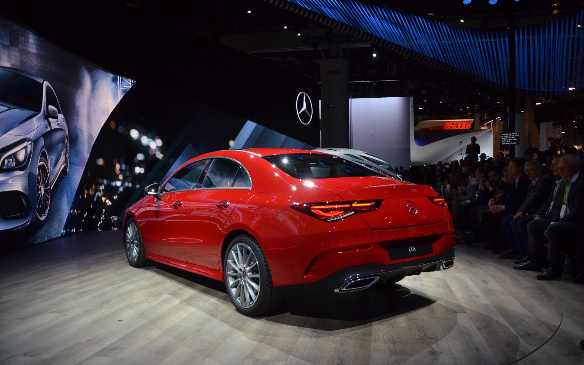 Mercedes-Benz CLA 2019 : la deuxième génération arrive au CES 362114_Mercedes-Benz_CLA_2019_-_Premiere_mondiale_de_la_CLA_de_deuxieme_generation_au_CES_2019