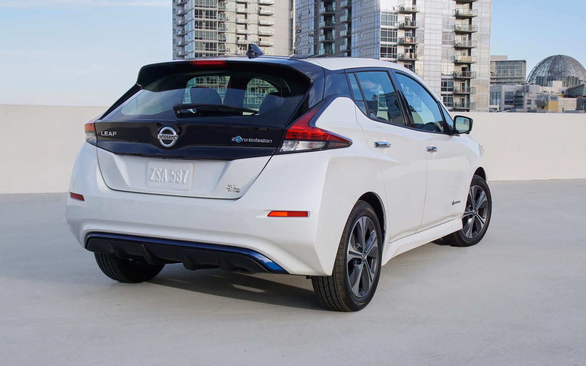 Nissan dévoile une LEAF PLUS à autonomie prolongée 362189_2019_Nissan_LEAF