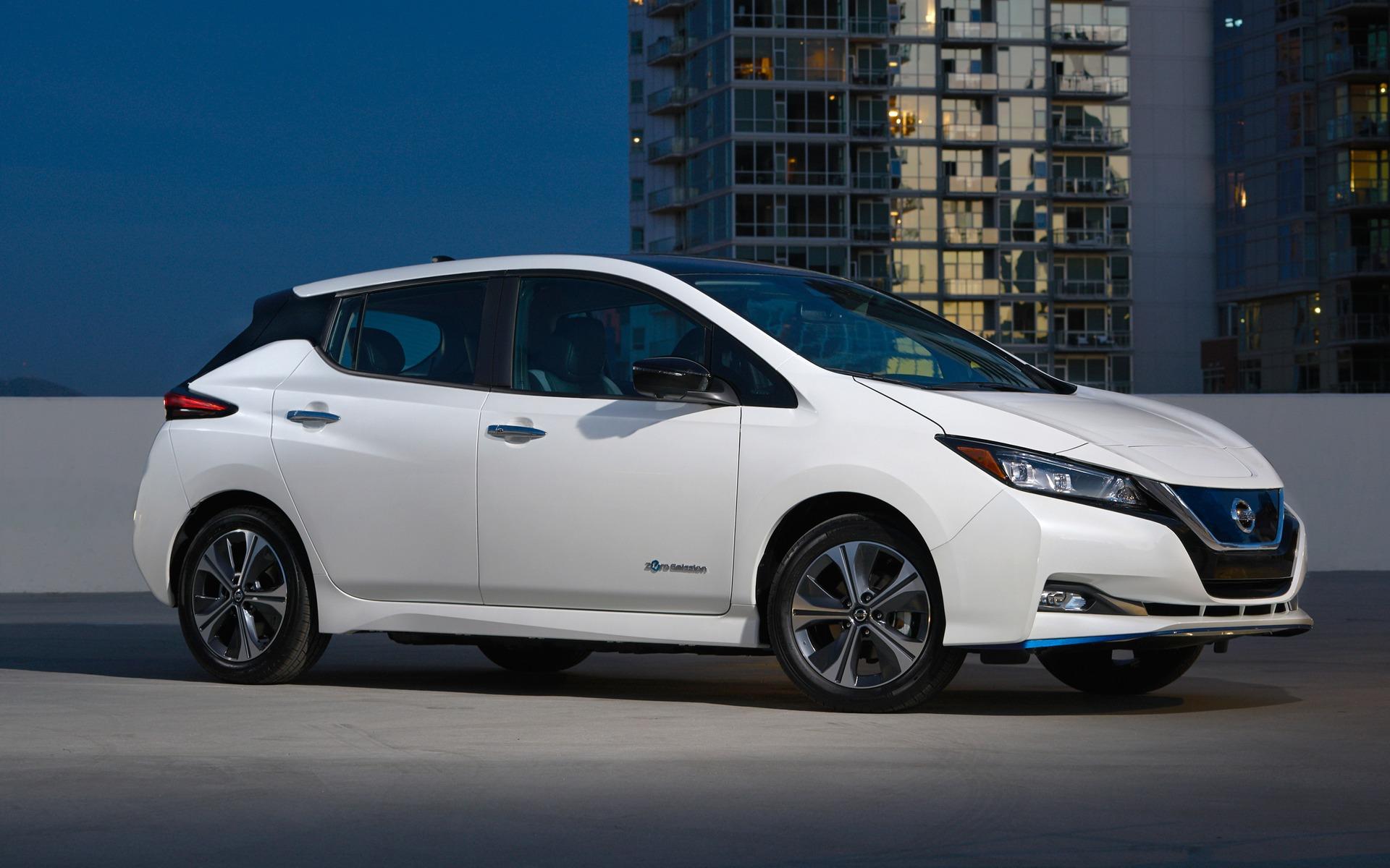 Nissan dévoile une LEAF PLUS à autonomie prolongée 362194_2019_Nissan_LEAF