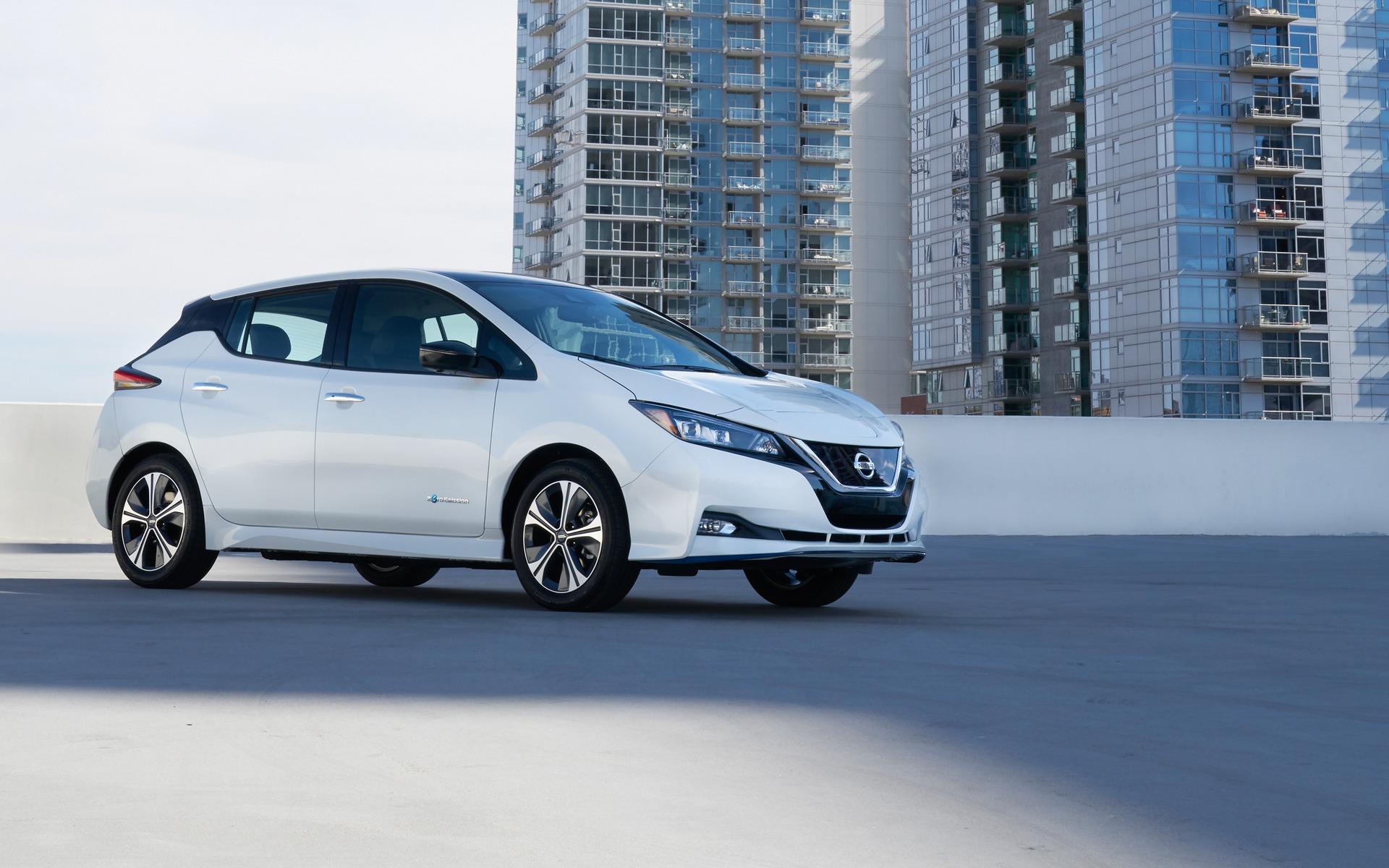 Nissan dévoile une LEAF PLUS à autonomie prolongée 362200_2019_Nissan_LEAF