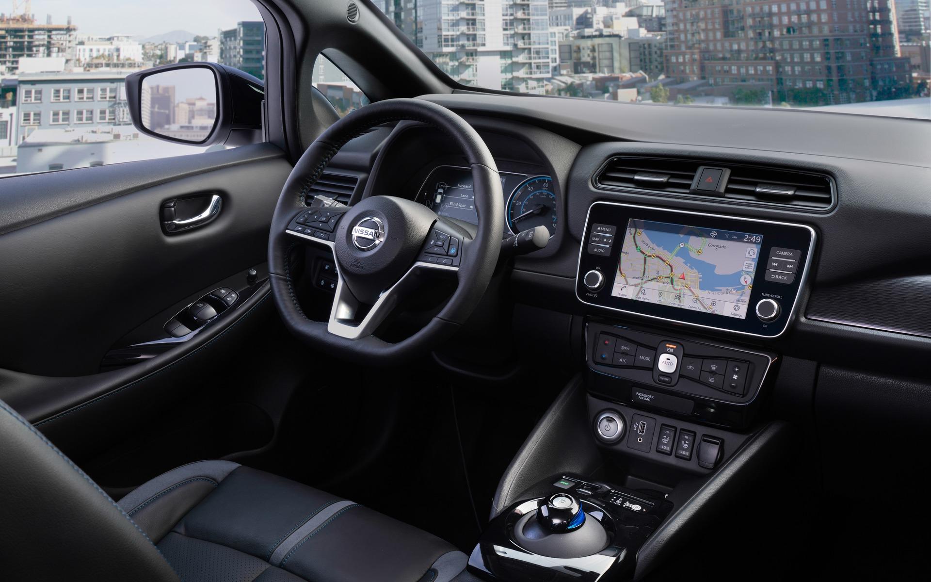 Nissan dévoile une LEAF PLUS à autonomie prolongée 362204_2019_Nissan_LEAF