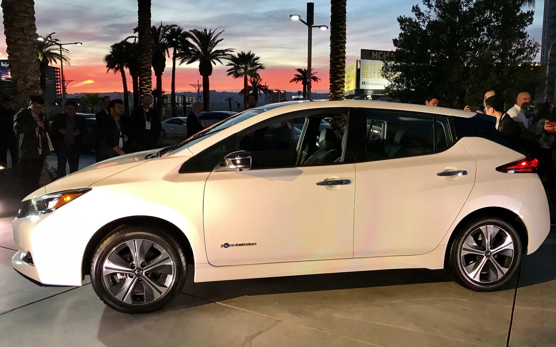 Nissan dévoile une LEAF PLUS à autonomie prolongée 362214
