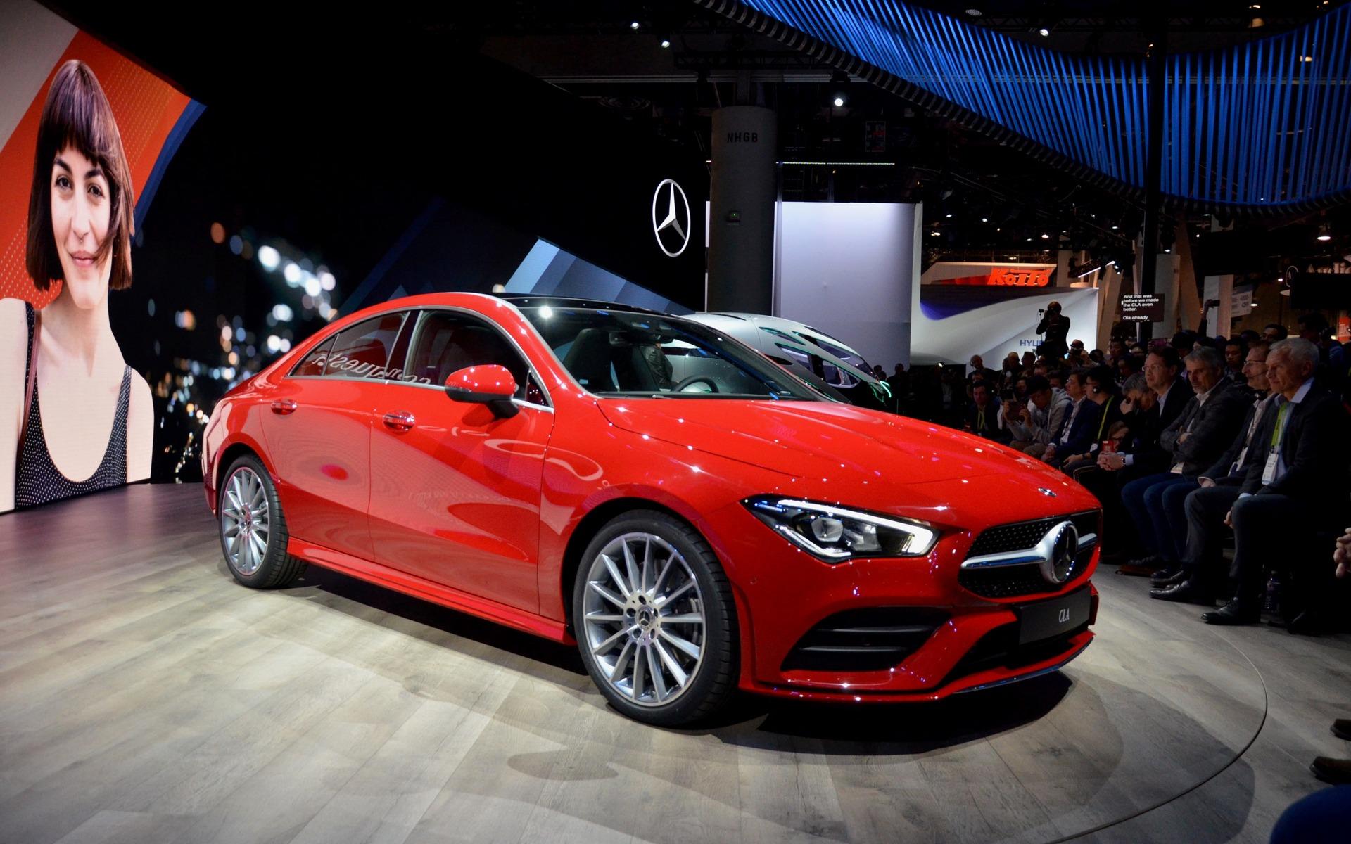 <p>2020 Mercedes-Benz CLA</p>