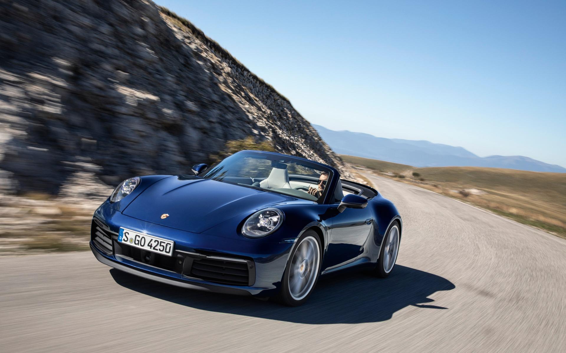 Voici La Porsche 911 Carrera Cabriolet 2020 Guide Auto