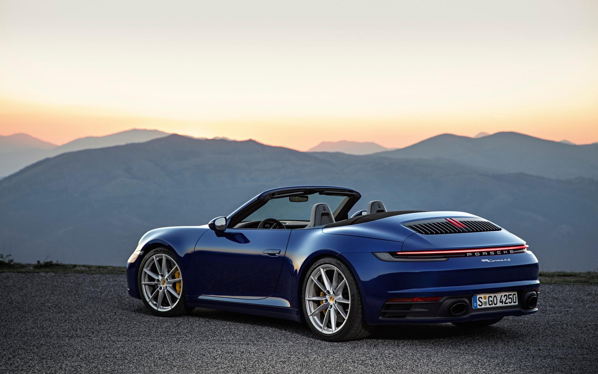 Voici la Porsche 911 Carrera Cabriolet 2020 362245_2020_Porsche_911