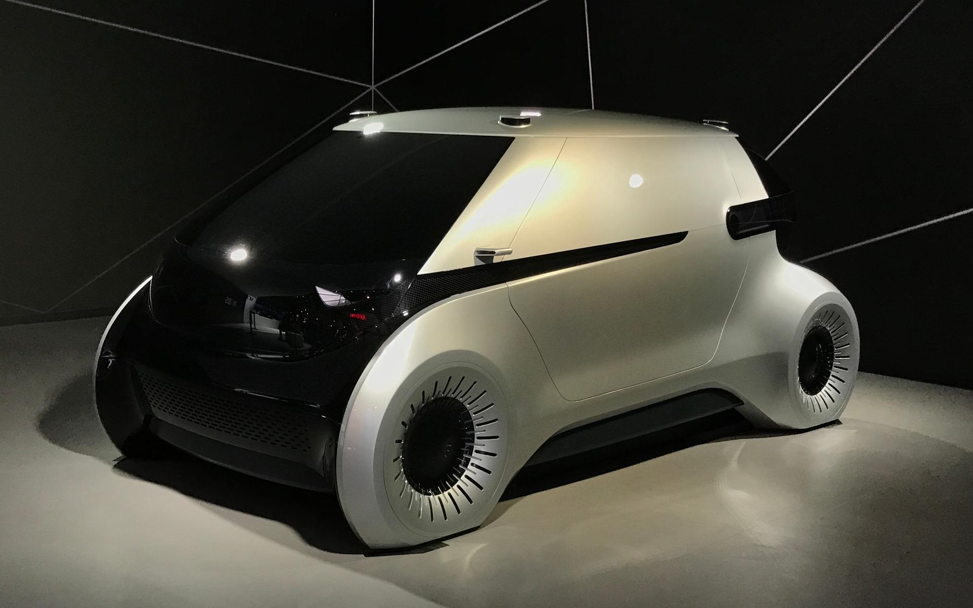 <p>Hyundai Mobius Concept</p>
