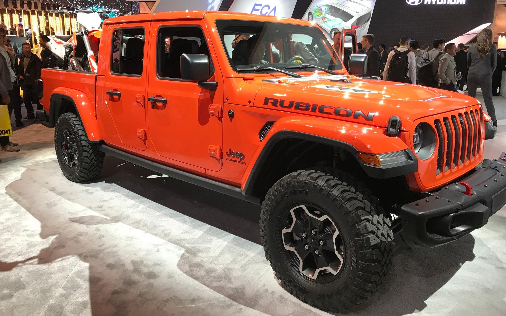 <p>Le nouveau Jeep Gladiator</p>