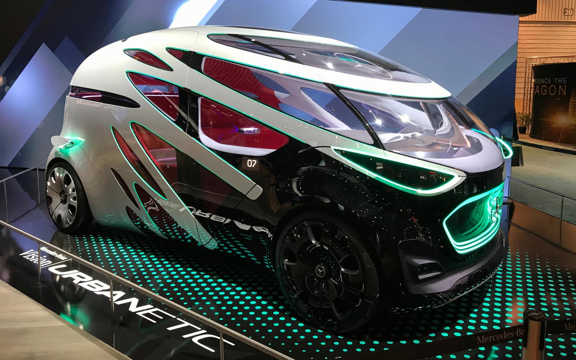 <p>Mercedes-Benz Urbanetic Concept</p>