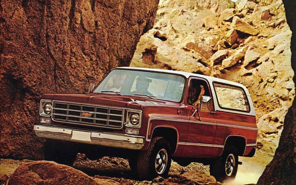 <p>Chevrolet K5 Blazer Cheyenne 1978</p>