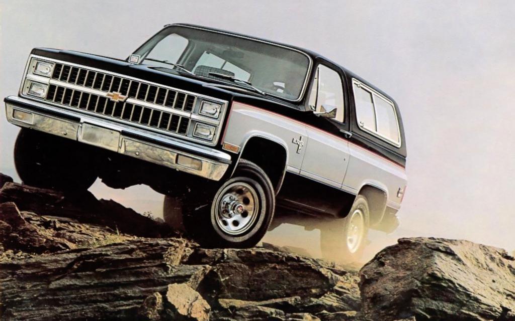 <p>Chevrolet K5 Blazer 1982</p>