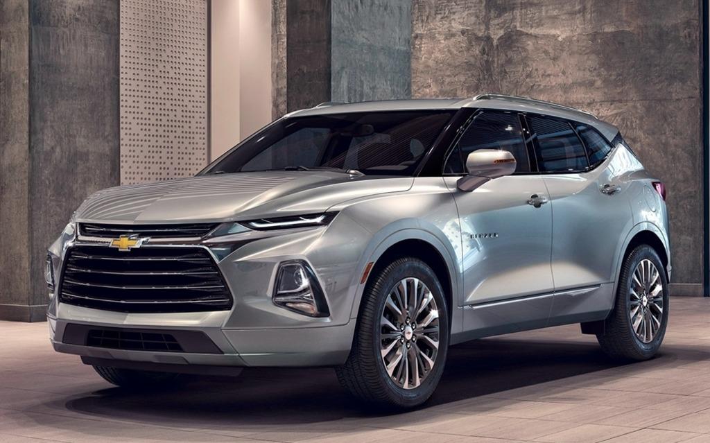 <p>Chevrolet Blazer 2019</p>