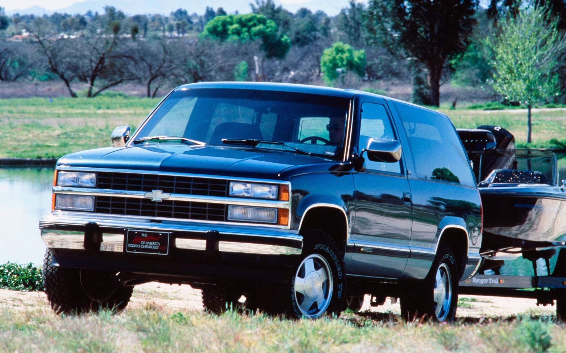 <p>Chevrolet Blazer Silverado 1992</p>