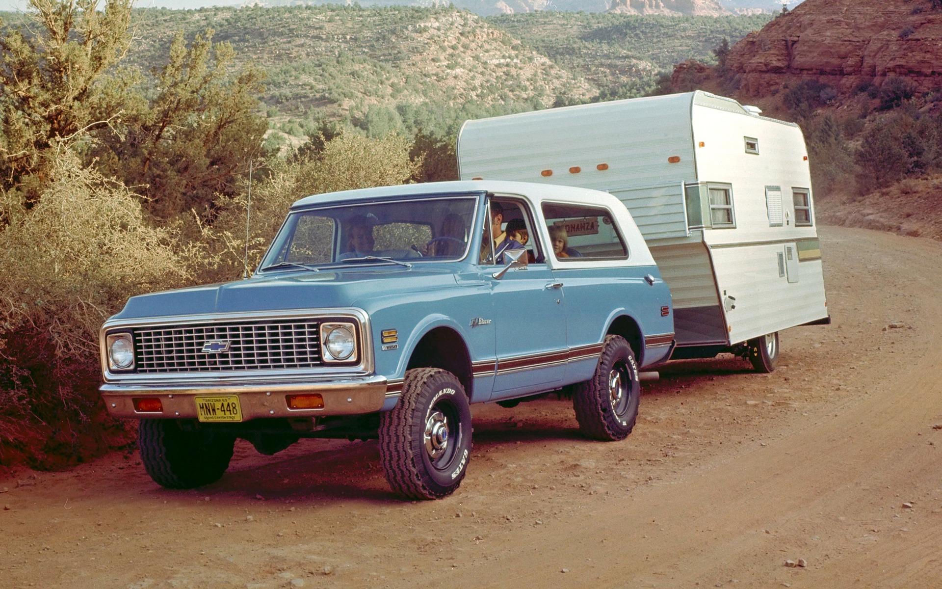 <p>Le tout premier Chevrolet K5 Blazer de 1969</p>