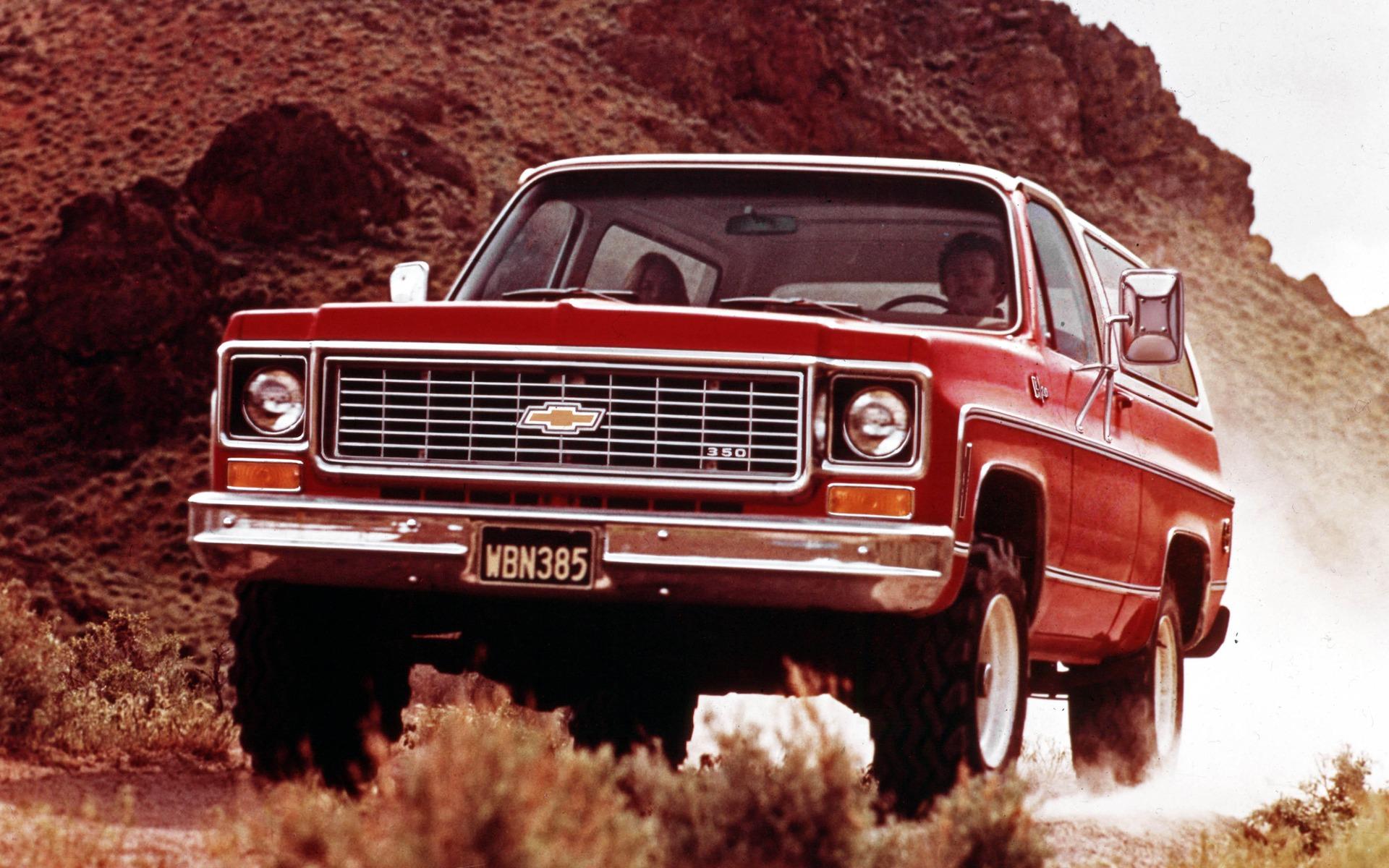 <p>Chevrolet K5 Blazer Cheyenne 1974</p>