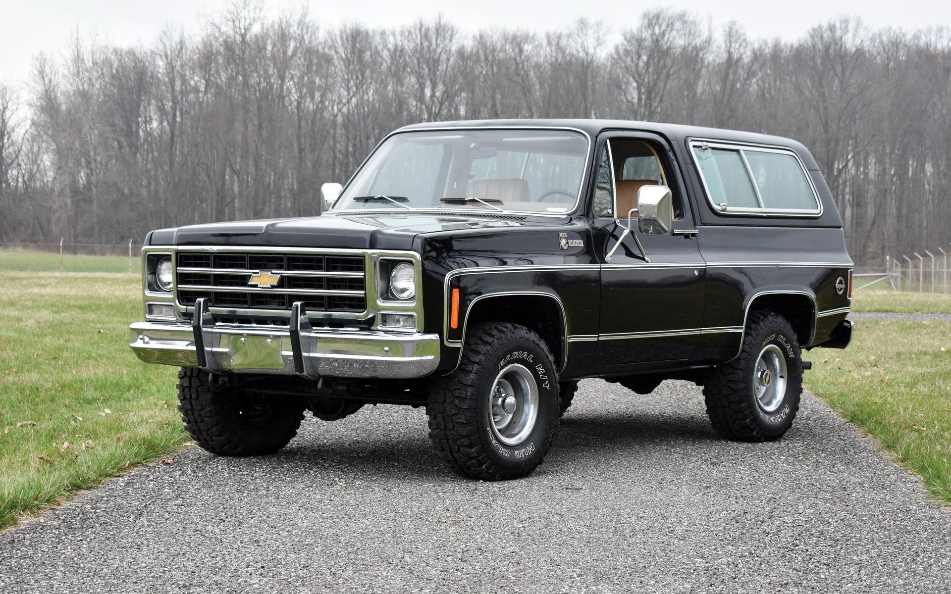 <p>Chevrolet K5 Blazer Cheyenne 1979</p>