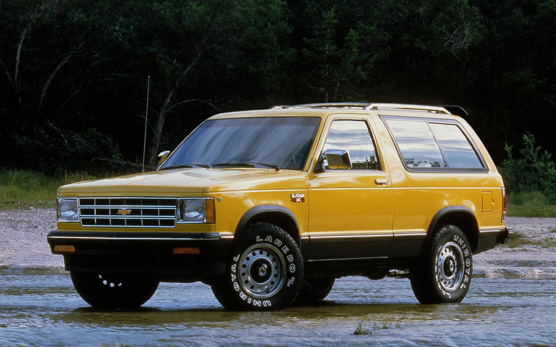 <p>Chevrolet S-10 Blazer 1983</p>