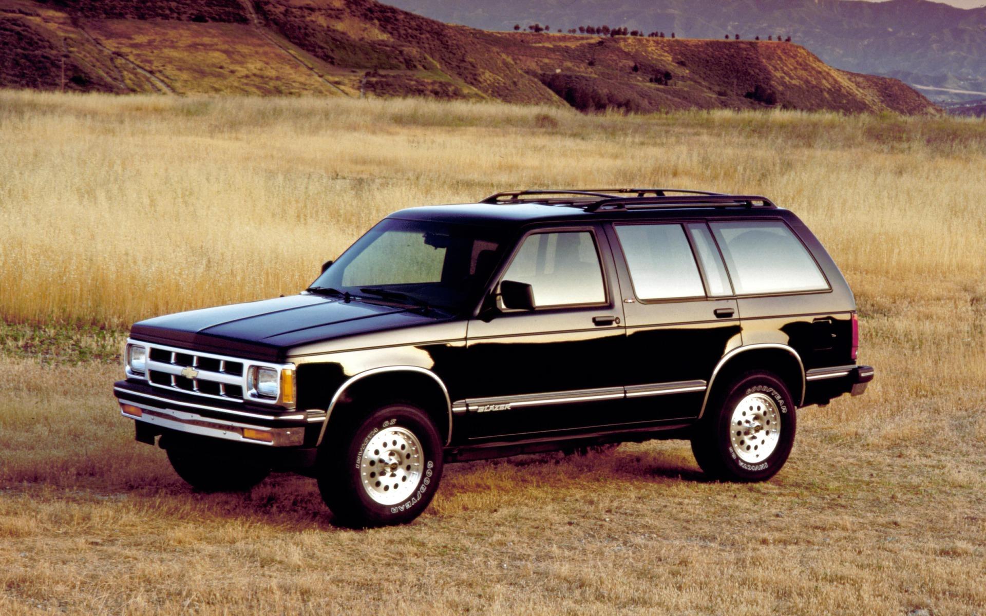 <p>Chevrolet S-10 Blazer 1990</p>