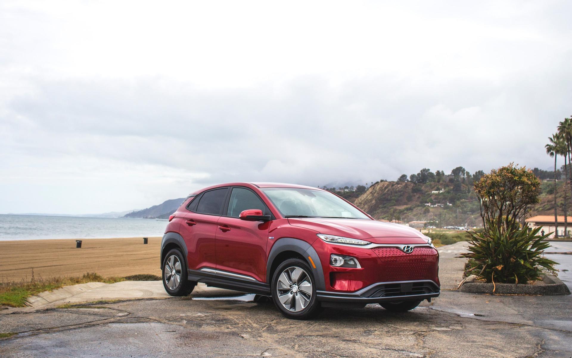 <p>Hyundai Kona &eacute;lectrique 2019</p>