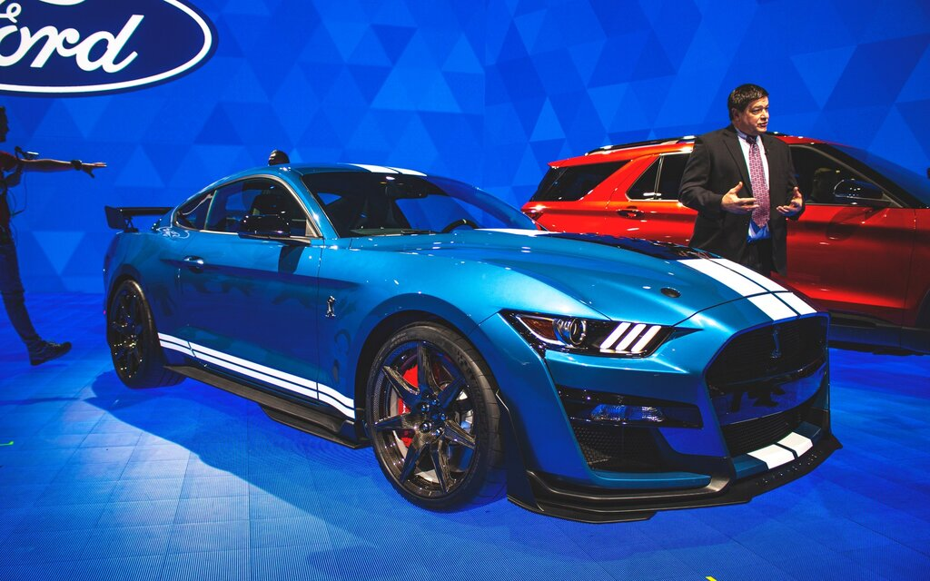 2020 Shelby GT500: Ford Presents its Most Powerful Mustang Ever - The Car Guide