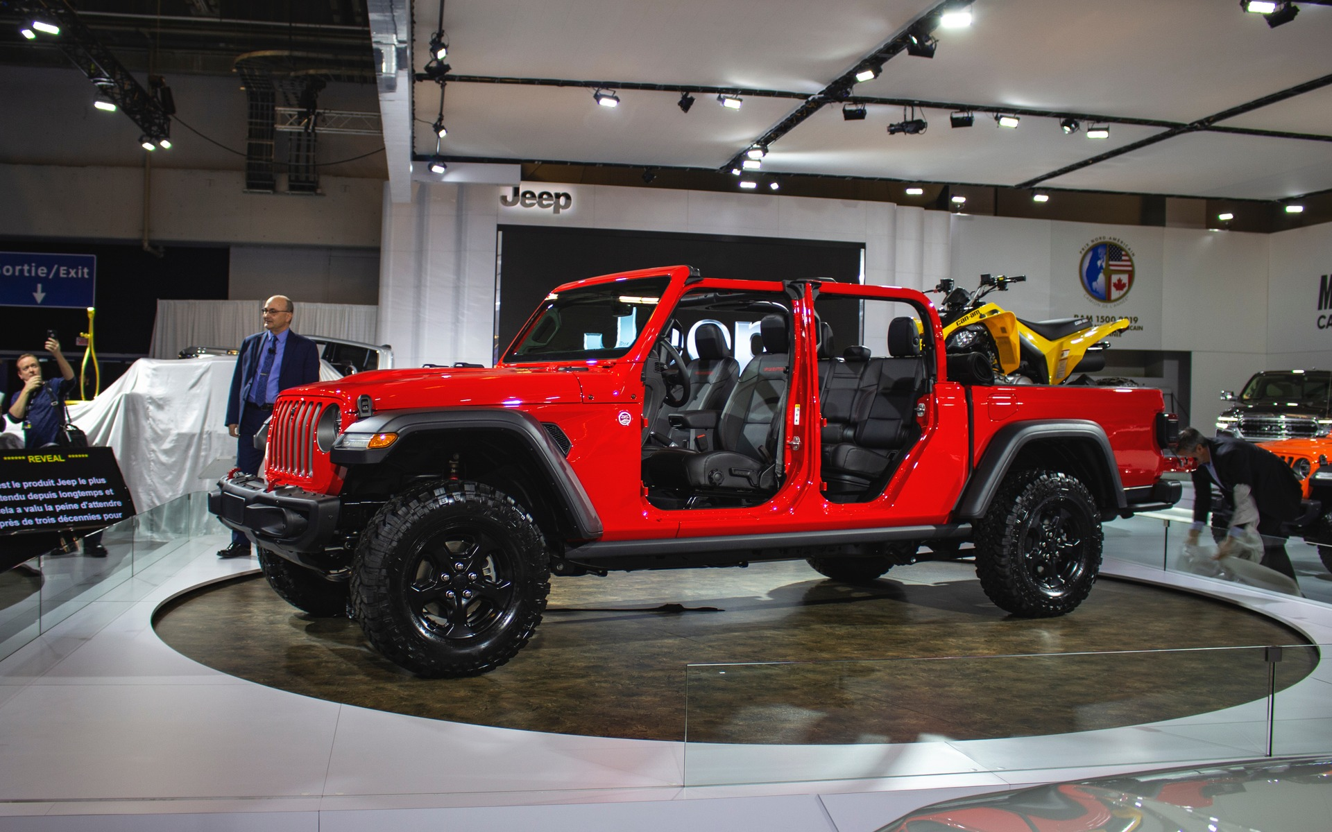 Le Jeep Gladiator 2020 arrive au Québec - Guide Auto