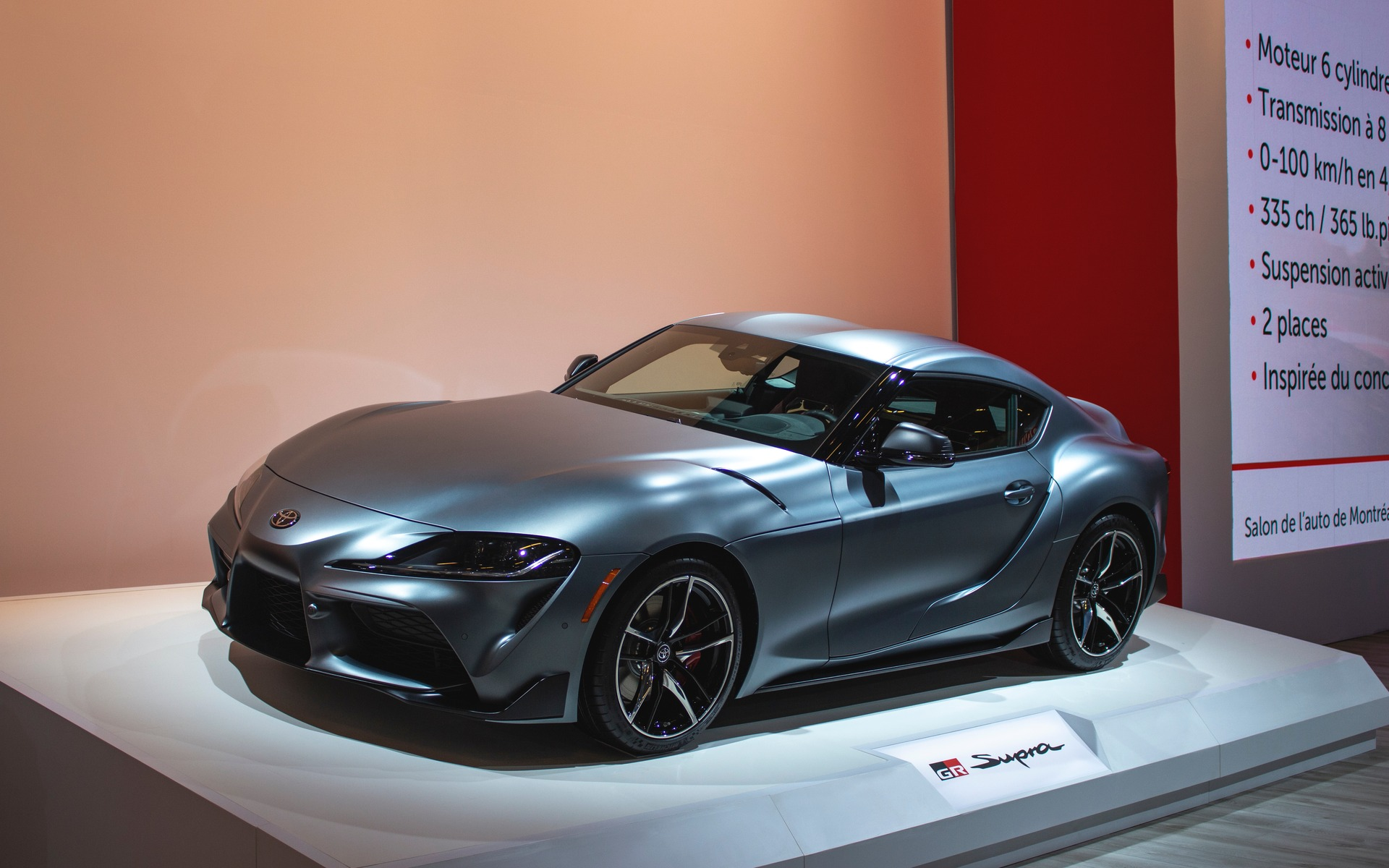 The 2020 Toyota Supra Unveiled In Montreal The Car Guide