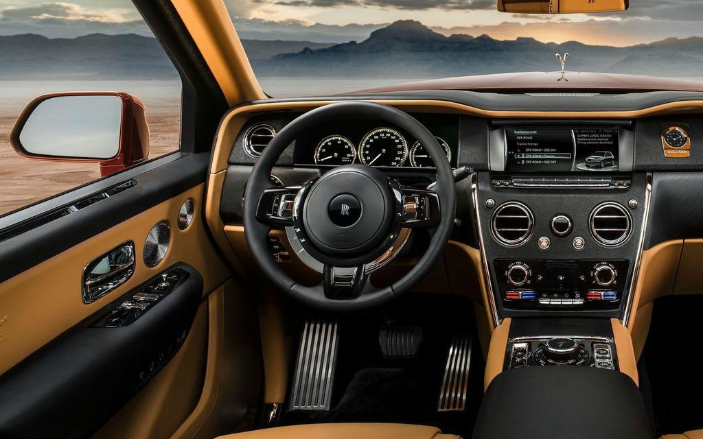 <p>Rolls-Royce Cullinan 2019</p>