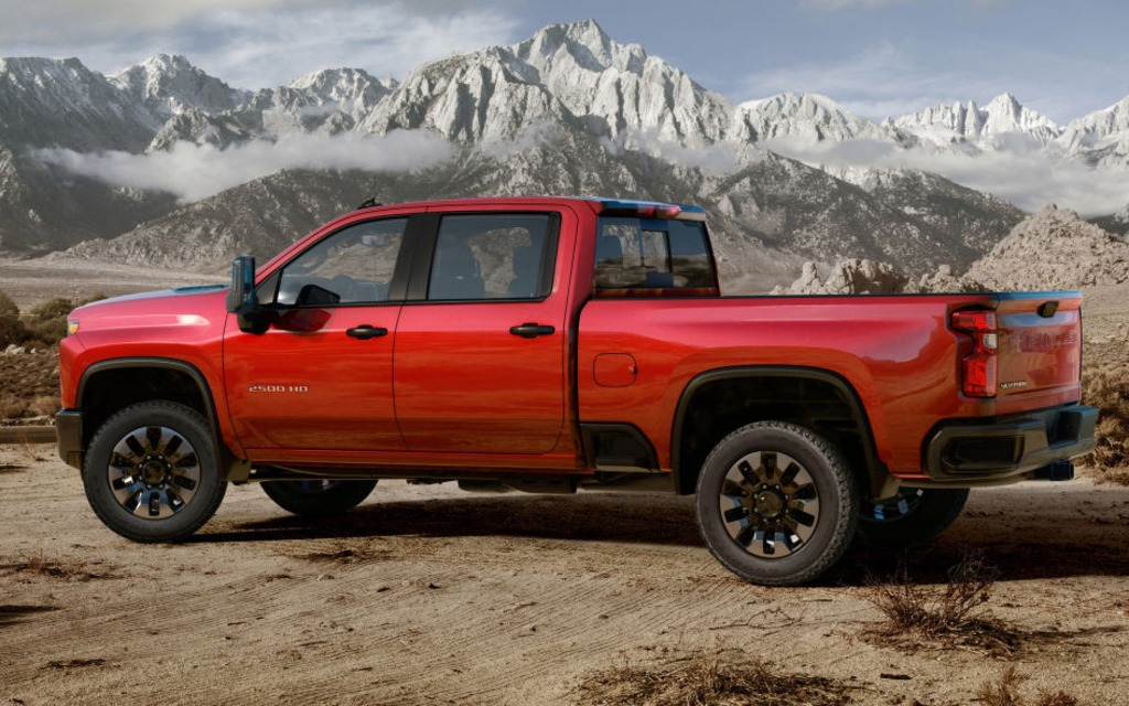 Le Chevrolet Silverado HD 2020 sera encore plus fort que le GMC 366044_2020_Chevrolet_Silverado_2500_HD